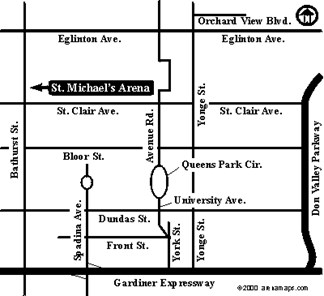Map to St. Mikes